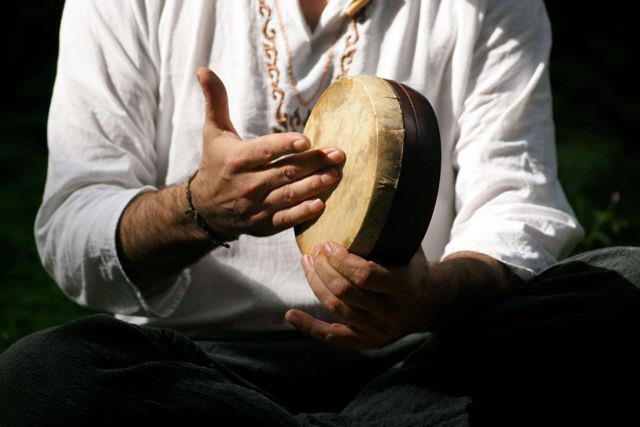 Indian Kanjira Drum